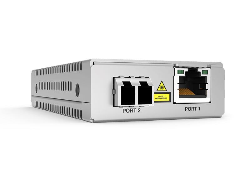 Миниатюрные коммутирующие медиаконвертеры Allied Telesis MMC2000/200