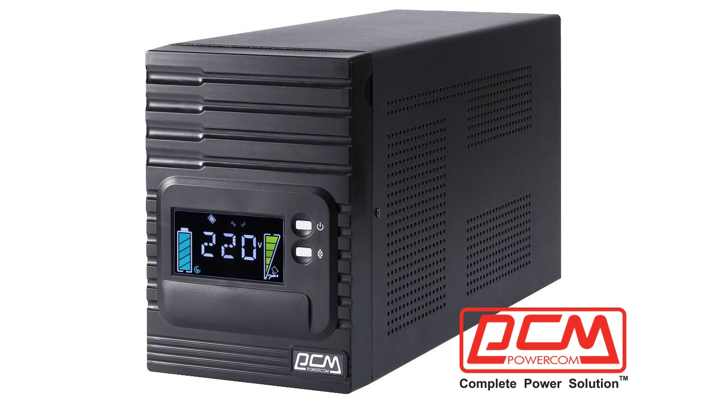 ИБП POWERCOM Smart King Pro+ SPT-3000-II LCD